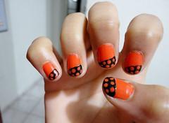 Facha com bolinhas (Jubsilva1) Tags: art do nail laranja bolinhas clube unhas esmaltes esmalte tirinhas unhascoloridas esmaltescoloridos esmaltecolorido unhasdiferentes