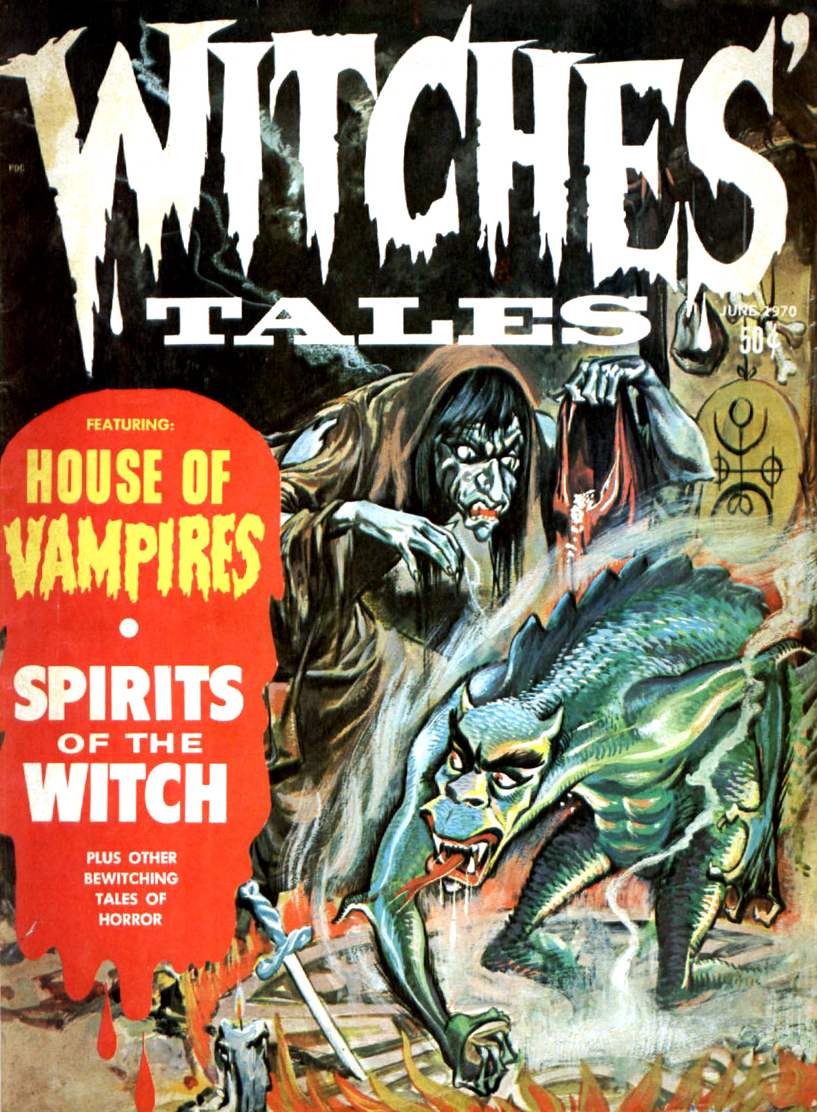 Witches' Tales Vol. 2 #3 (Eerie Publications 1970)