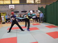 UCD TKD vs Lau Gar - UCD Sports Centre (October 2011) (irlLordy) Tags: ireland dublin club ian october kick spar tkd ucd kickboxing sportscentre laugar 2011