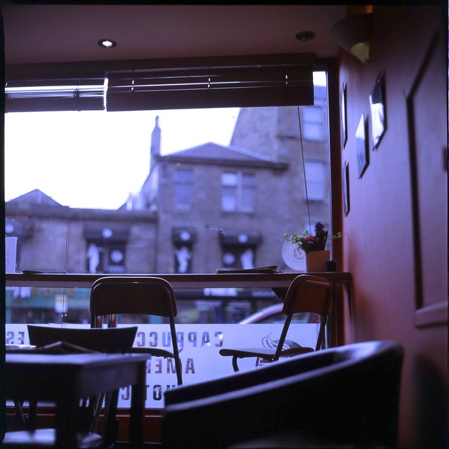 edinburgh city centre cafe