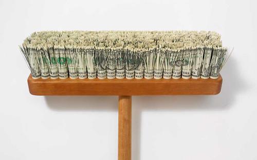 Money Pushbroom