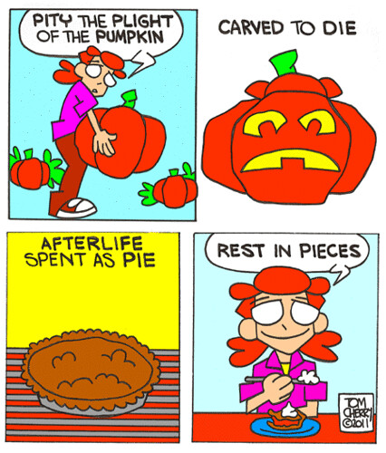 The Plight of the Pumpkin