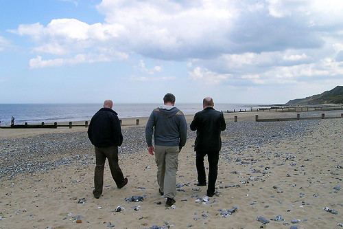 Cromer - 3 Men Walking