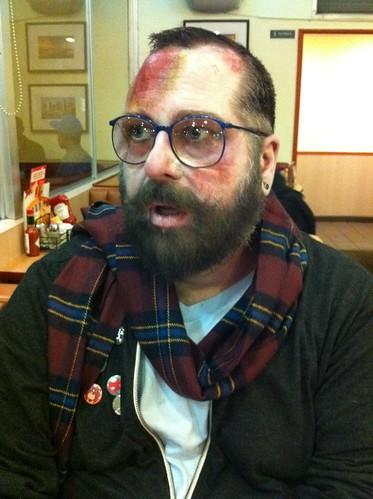 Hipster Zombear