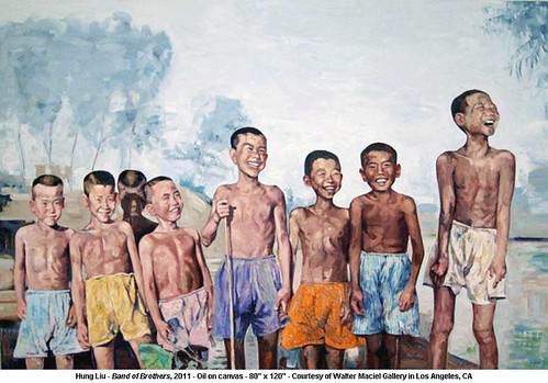 Hung Liu - Band of Brothers, 2011 by artimageslibrary