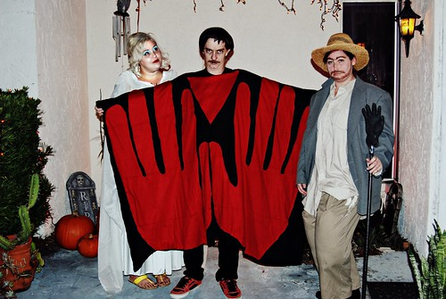 Me ben and katie as Manos hands of Fate by tiffanycsteinke
