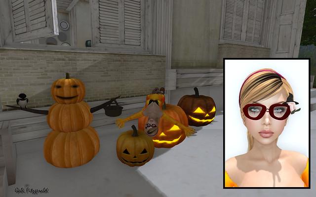 funky junk - cleo design - g field - halloween
