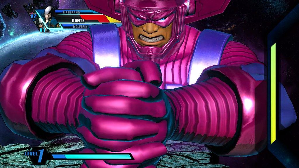 Galactus Mode - Gamers Day - ULTIMATE MARVEL VS CAPCOM 3