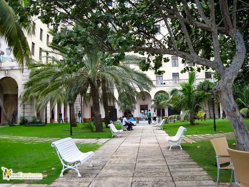 Grounds of Hotel Nacional Cuba