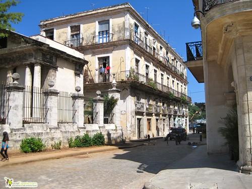 Architecture in Havana Vieja Cuba