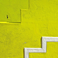 Detail of building, Bo-Kaap (Sallyrango) Tags: abstract building stairs southafrica limegreen buildingdetail capetown paintedwall bokaap brightbuildings