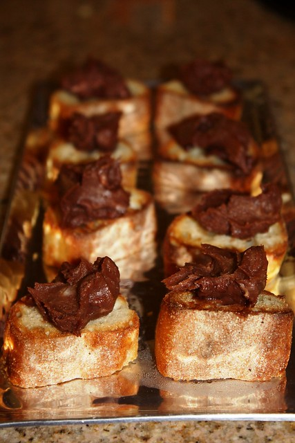 Nutella & Mascarpone Crostini