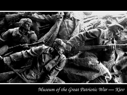 Museum of the Great Patriotic War — Details in B&W