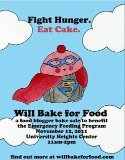 Will Bake for Food 2011