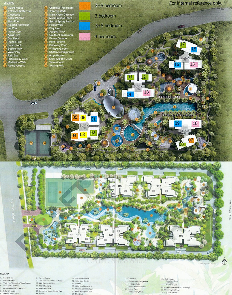 Putting foresque and treehouse site plans side by side gives one a