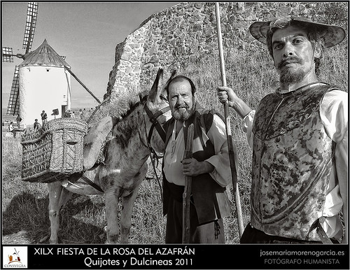 Quijote y Sancho by José-María Moreno García = FOTÓGRAFO HUMANISTA