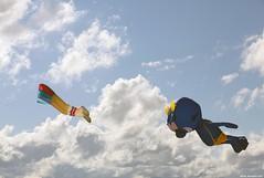 You've Got Nowhere To Hide... I'll Get You! (LilFr38) Tags: ocean sky usa cloud kite newyork beach brooklyn coneyisland ciel nuage plage canonef1740mmf4lusm cerfvolant ocan lilfr38 canoneos5dmarkii hidedinosaurjr