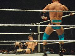 The Miz, R-Truth & Kevin Nash vs John Cena, Zack Ryder & Kofi Kingston