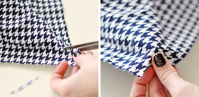 Houndstooth Shoes DIY - 12-1