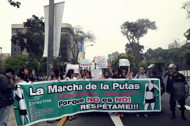 Slut Walk, Lima-Peru.