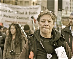 the face of occupy toronto ..... valerie