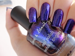Dark Purple , Love & Beauty (Lady_Yaya) Tags: love beauty dark purple nail polish nails unhas varnish lacquer esmalte importado