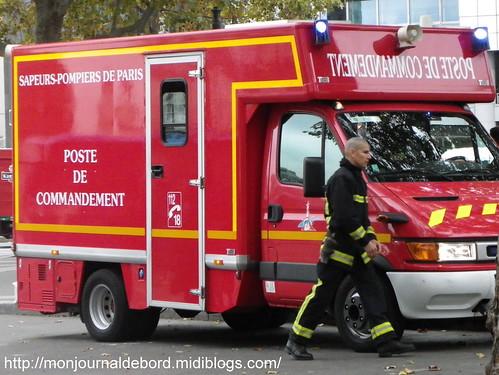 Véhicule Sapeurs Pompiers de Paris 2