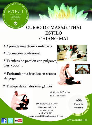 Curso Bilbao MASAJE THAI CHANG MAI by LaVisitaComunicacion