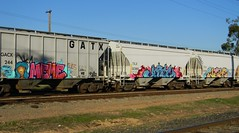 The Line Up (Sk8hamburger) Tags: art me car train painting graffiti paint fuck niche tag over joe meme dont kings will angels vandal jersey letter awr msk rime mad rise society tagging supreme madsocietykings theseventhletter vts tsl jerseyjoe angelswillrise grainer memer vandalteamsupreme nicher dfmo dontfuckmeover