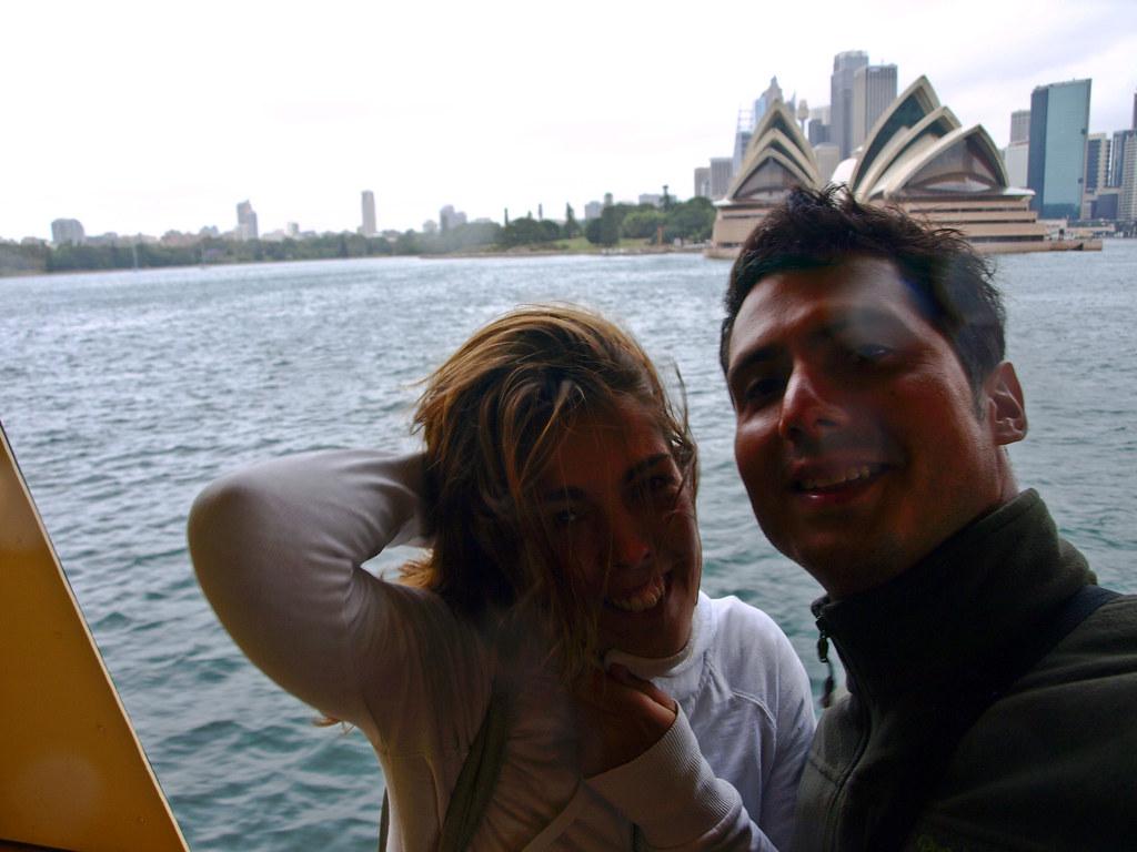 Sydney Opera House desde el ferry