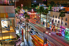 High on Hollywood (TIA International Photography) Tags: california road street city november autumn urban building tree fall tourism car shop retail skyline night skyscraper tia shopping landscape evening losangeles los glamour long exposure downtown boulevard traffic angeles centre famous fame pedestrian center tourist palm fortune sidewalk souvenir highland entertainment commercial hollywood fancy vehicle glam intersection avenue glamor flashy tosin zany glitz arasi tiascapes tiainternationalphotography