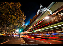 Bus Trail St Pauls London (Edwinjones) Tags: street city uk travel england urban color colour london heritage texture tourism architecture dark photography lights photo movement european cityscape traffic cathedral photos unitedkingdom britain sony centre capital cities cityscapes sigma wideangle pic landmark center structure architectural nighttime londres nights metropolis lighttrails dslr metropolitan hdr highdynamicrange streaming worldheritage cityoflondon shutterspeed municipality edifice lighttrail nightdarkness tonemapped tonemapping traffictrail stpauls dslra700