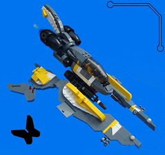 Monarch Viper (aabbee 150) Tags: butterfly lego space 150 monarch vic viper foitsop aabbee