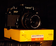 DSC02360 (Evansshoots) Tags: camera black slr canon 50mm mechanical kodak mount 18 ef fd semielectric bromesko