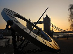 Sunset - Tower Bridge London (soulman53) Tags: city sunset london nature towerbridge march 2012 towerbridgelondon