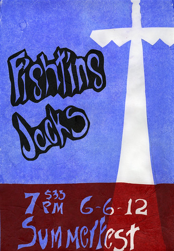 Fighting Jacks Gig Poster