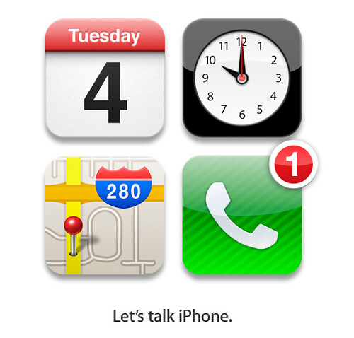 Apple Invite - Let's Talk iPhone