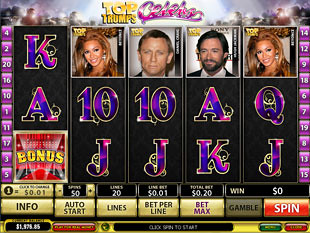 Top Trumps Celebs slot game online review