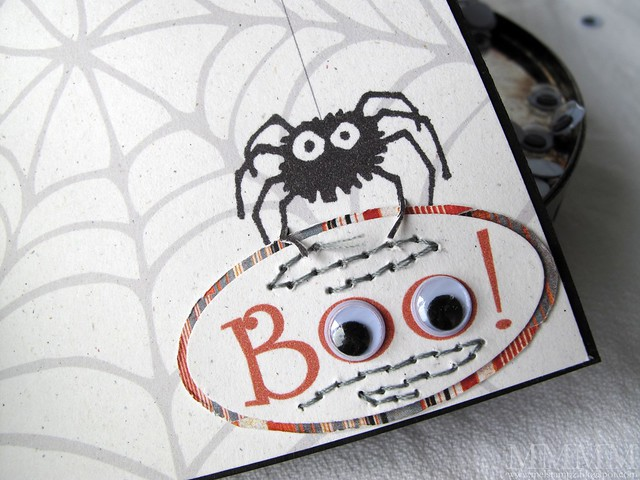 bat window card Hero Arts spider