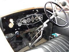 Renault Monaquatre cabriolet - Tableau de bord (gueguette80 ... non voyant pour une dure indte) Tags: old cars convertible renault dashboard autos cabriolet rhd anciennes fifthwheel voituresanciennes tableaudebord franaises monaquatre