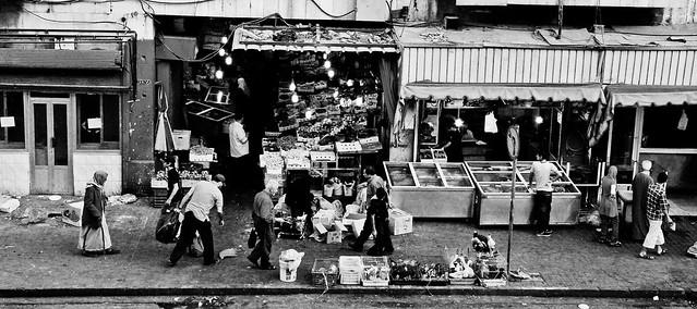 Amman - Vegetable Market Entrance