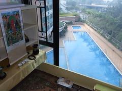 Pabodhana's balcony shrine, 7th floor, Hong Kong