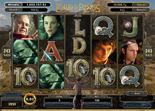 Lord of the Rings Bonus Game