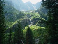 Cascade Creek Trail Runoff Gran Tetons 2003 (flyfshr2009) Tags: nature sony wyoming grandtetonnationalpark cascadecreektrail sonycybershotf707