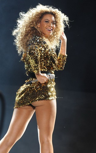 Beyonce Knowles Glastonbury Festival pictures