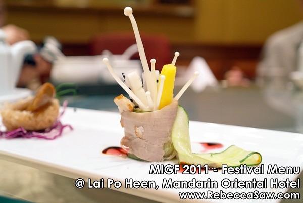 MIGF 2011 - Lai Po Heen, Mandarin Oriental-6