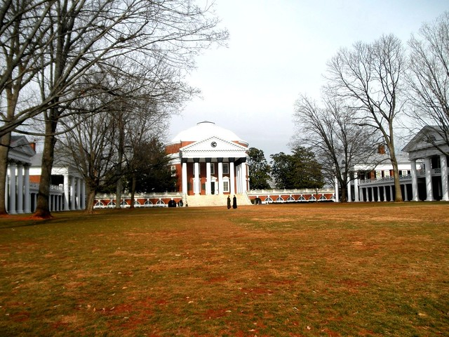 Rotunda and Lawn at University of Virginia