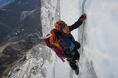 Photo c. Ueli Steck, courtesy Mountain Hardwear
