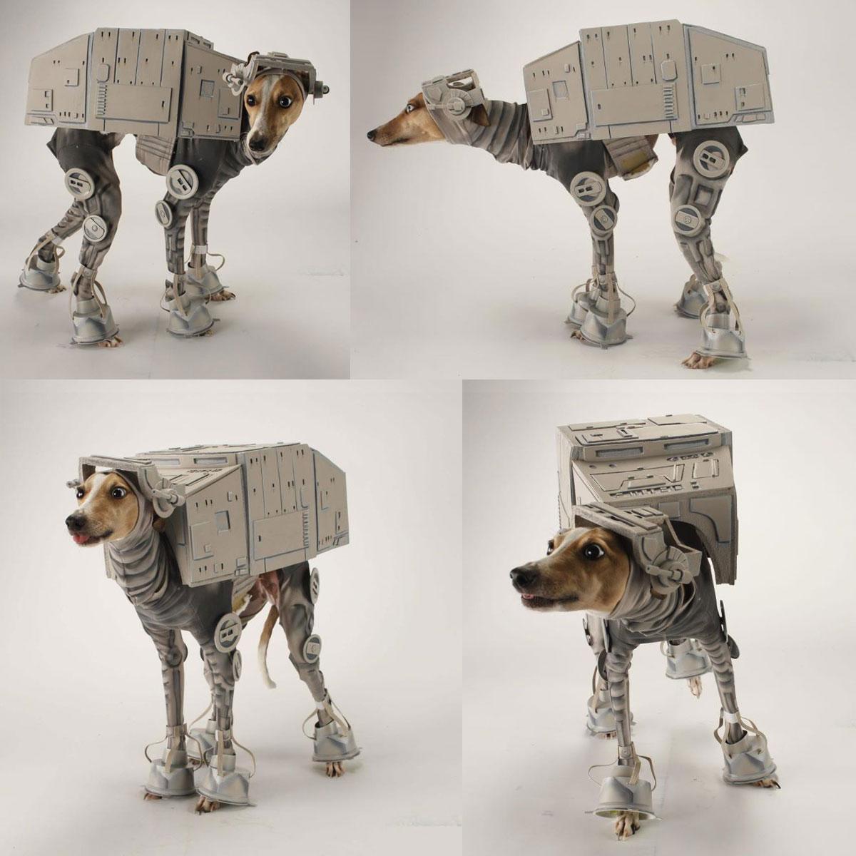 & The Making of an AT-AT-DOG