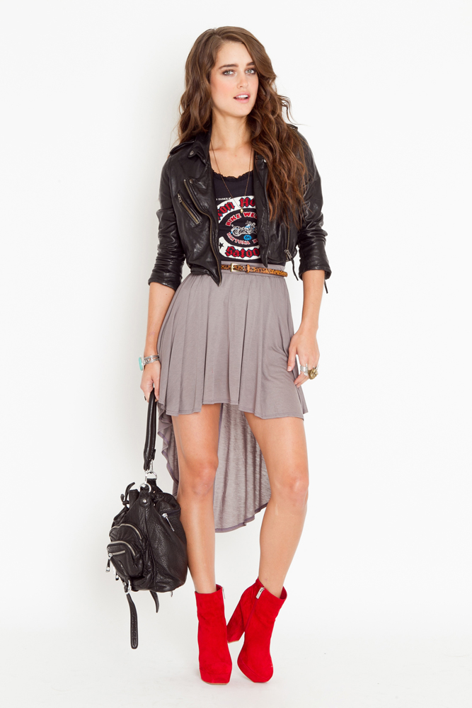 NastyGal FW11 fishtail skirt 1